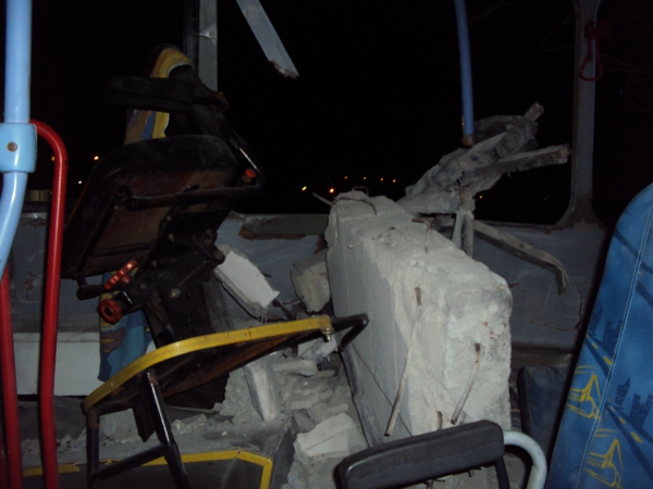 Acidente ônibus Caju