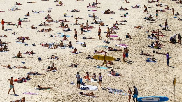 Lifeguards are required to conduct a headcount on the number of people on the beach