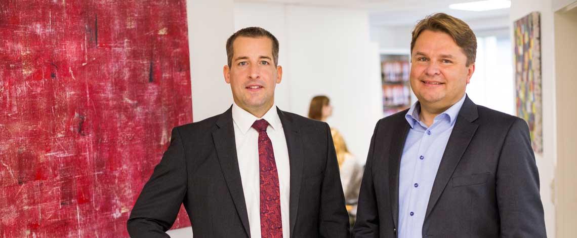 Rechtsanwalt Matthias Fuchs und Moritz Klay Lüneburg