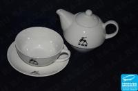 Нанесение на чайном наборе