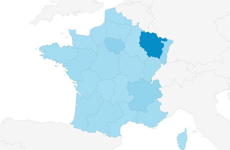 regions carte