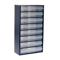 raaco 1200 Series Small Parts Storage Cabinet 1224