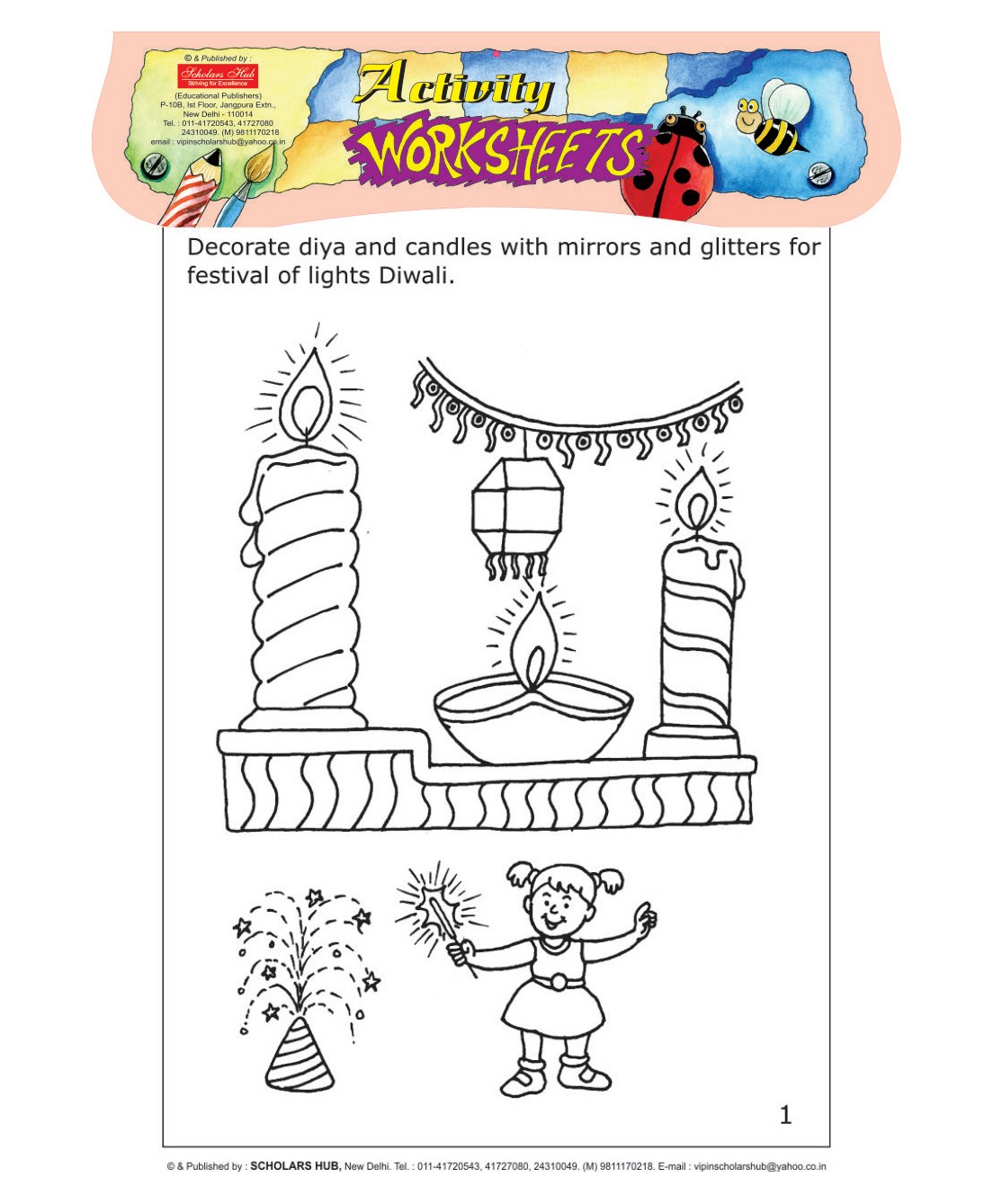 Scholars Hub Worksheets Festivals