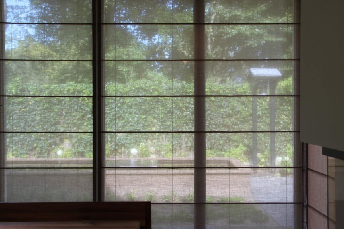 Raambekleding voor grote en hoge ramen  Raamideenl