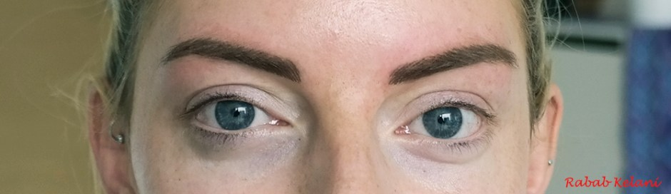 eyebrow micropigementation by rabab kelani