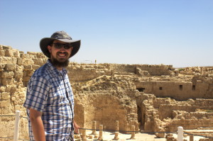 Herodion Upper Palace Rabbi Eitan Guiding