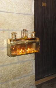 hanukkiah old city jerusalem