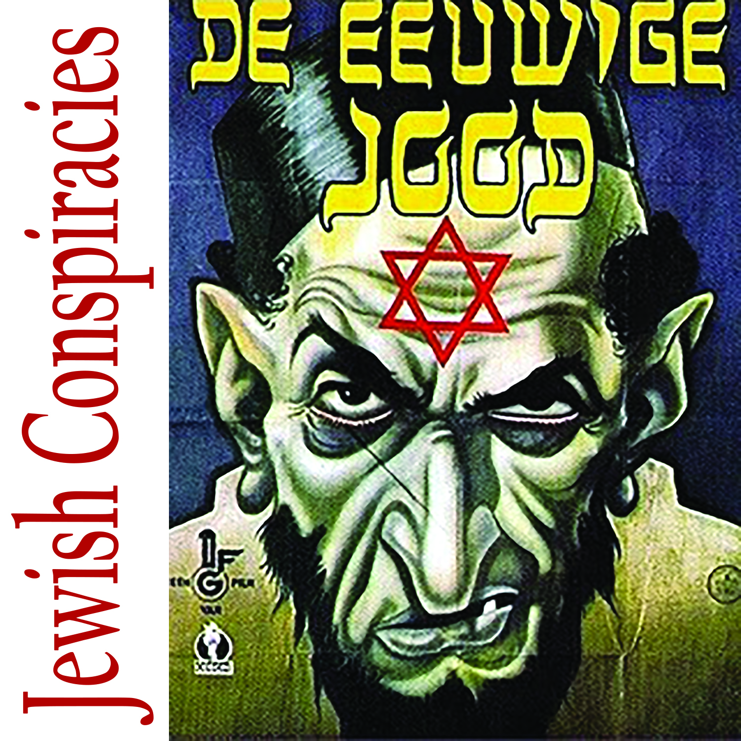 Jewish Conspiracies – Jewish Geography – Podcast