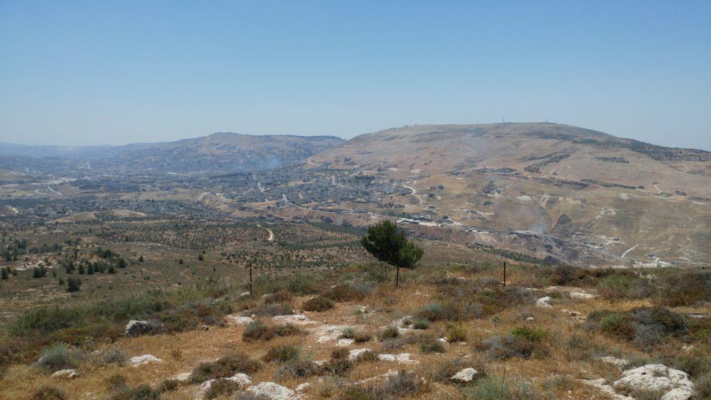 Shechem Nablus gerizim eval