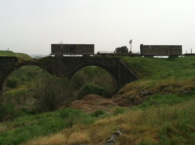 Higzit Rail Bridges - near the Jordanian border