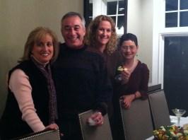 Lorena and Adam Blonsky, Nancy Taxman, Sara Hoffman