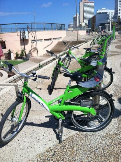 Tel Aviv - rental bikes