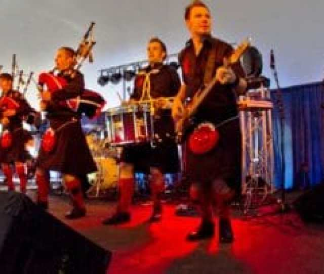 Musical Performers At The New Hampshire Scottish Festival