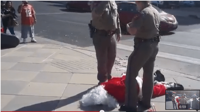 Santa Arrested in Austin, Texas