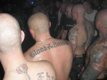 a 2009 neo-Nazi gig organised by Wojciech Cieplinski (him on right)