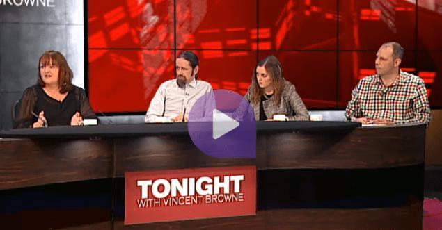 Luke 'Ming' Flanagan & panel on Tonight TV3