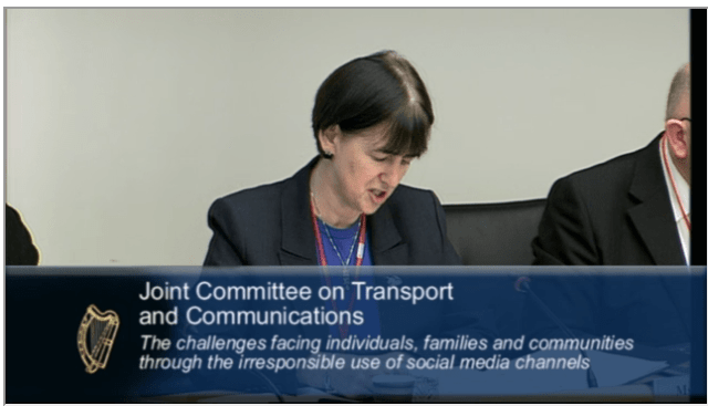 Oireachtas committee discuss social media