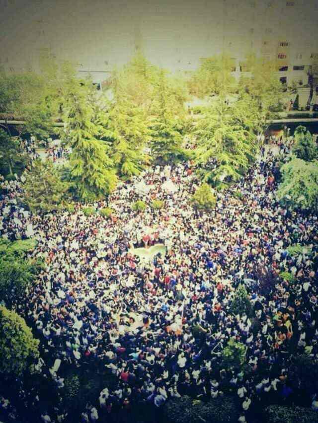 Eskisehir in protest (image Emre Kizilkaya @ekizilkaya on twitter)