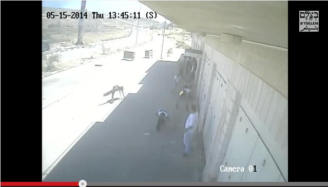 The moment Nadim Nawarah was shot