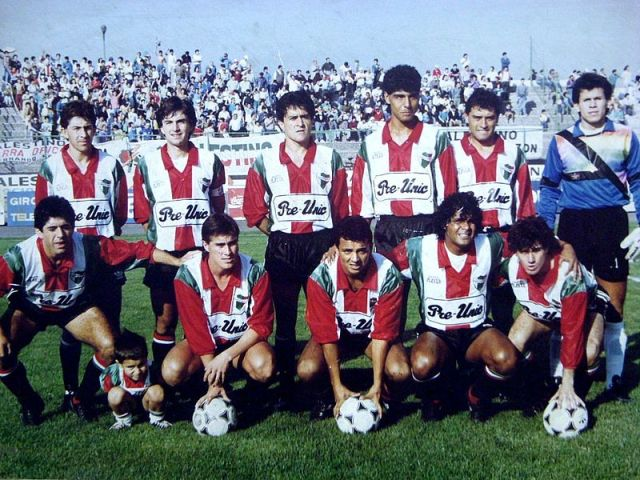 Club Deportivo Palestino (1991 coached by M Pallegrino - photo Ahmmed)