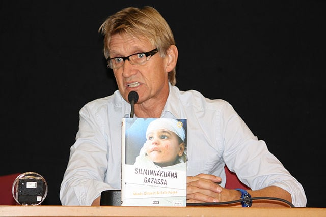 Dr. Mads Gilbert (photo Anneli Salo, wikimedia).