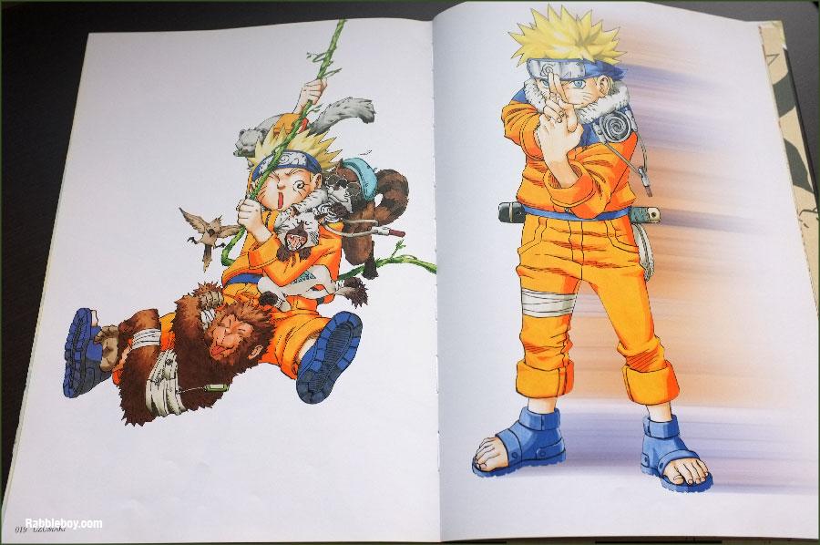 Kishimoto Masashi Art Book NARUTO Illustrations Collection