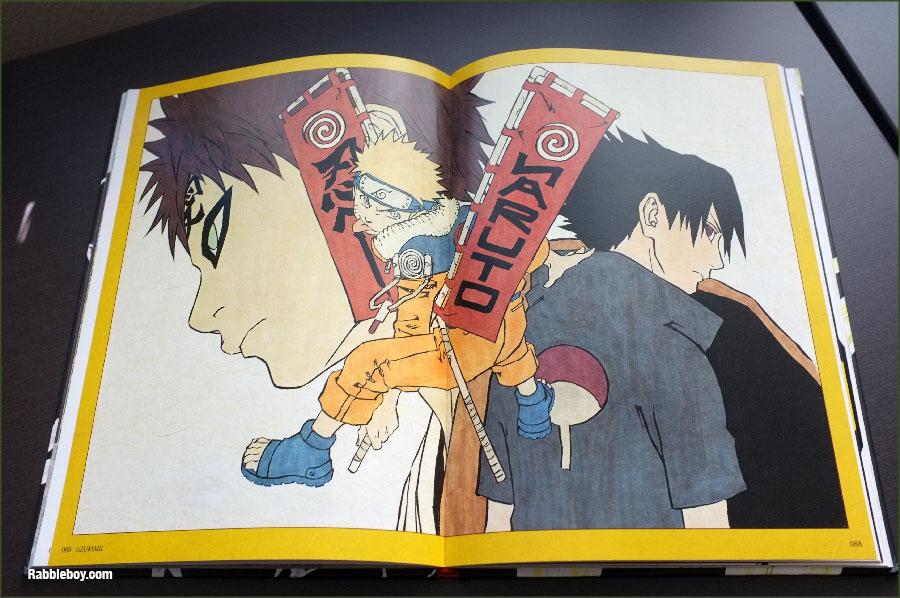 Masashi Kishimoto Naruto Art Book - Rabbleboy - Kenneth