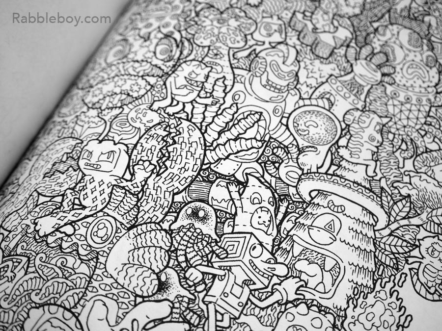 Adult coloring book P1100182