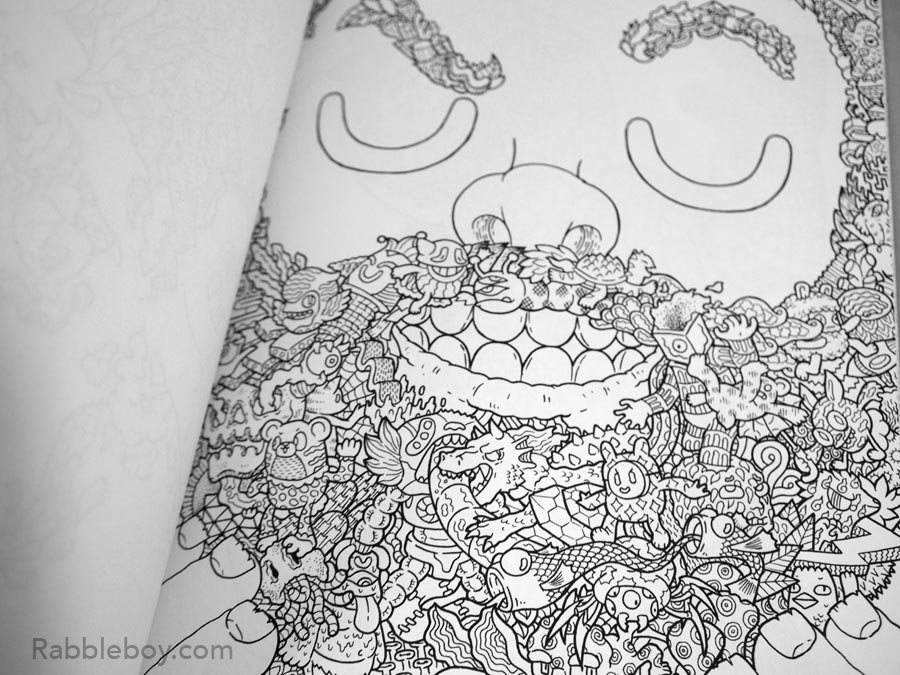 Adult coloring book P1100187