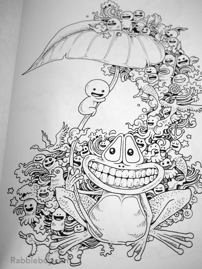 Doodle Invasion Coloring Book Review Doodle Invasion A