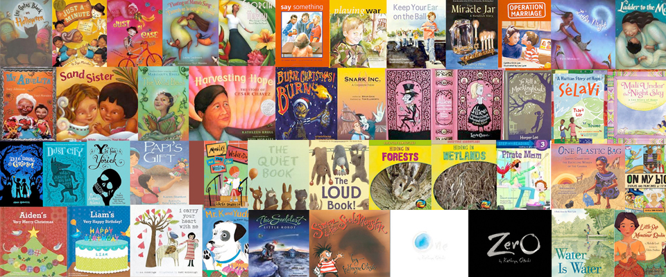Just some of the many wonderful books published by former students.