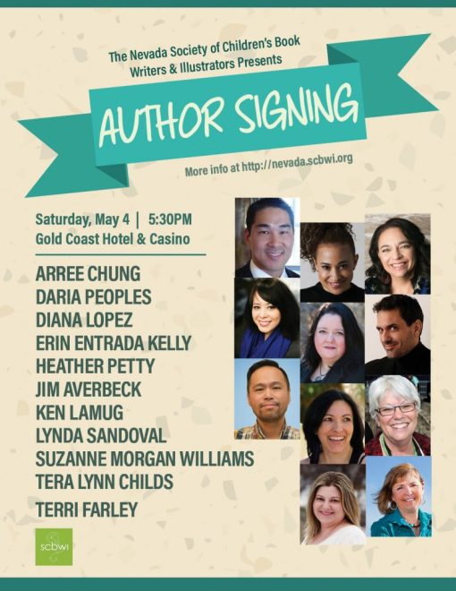 Nevada SCBWI Conference Author Signing