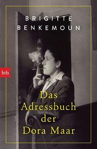 Cover Benkemoun_Das_Adressbuch_der_Dora_Maar