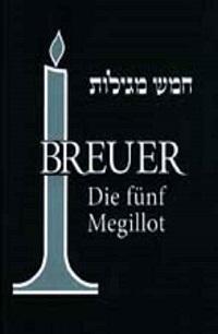 Cover Breuer_Die_fuenf_Megillot