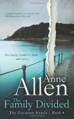 The Family Divided (The Guernsey Novels Book 4) by Anne Allen, contemporary fiction book review