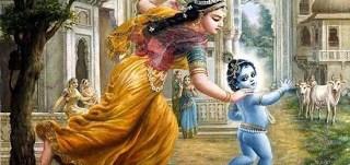 Krishna and Nanda Rani- Sri Krishna Janmasthami