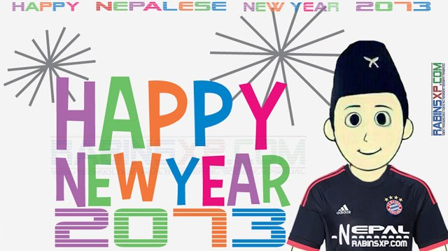 HAPPY NEPALESE NEW YEAR 2073 BAYERN MUNICH