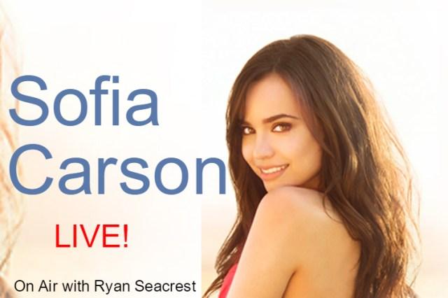 Watch Sofia Carson LIVE