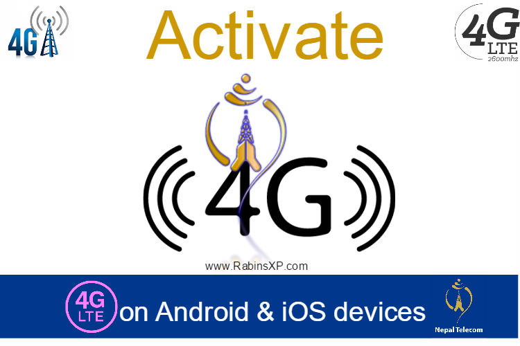 Activate 4G Service in Nepal