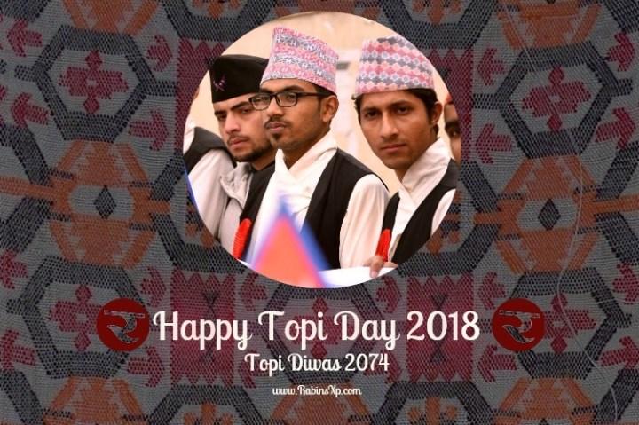 Topi Day Nepal 2018 Greeting Image
