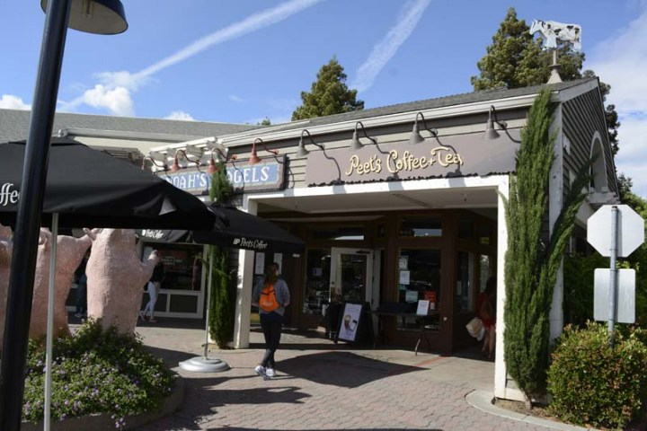 Peet's Coffee and Noah's Bagels in the Marketplace Shopping Center