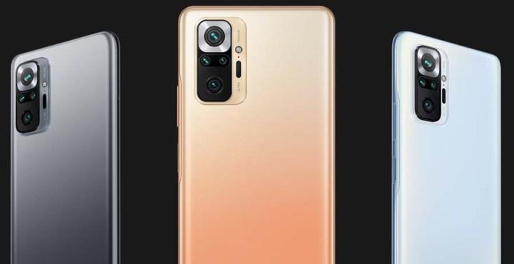 Redmi Note 10 Pro Color Options