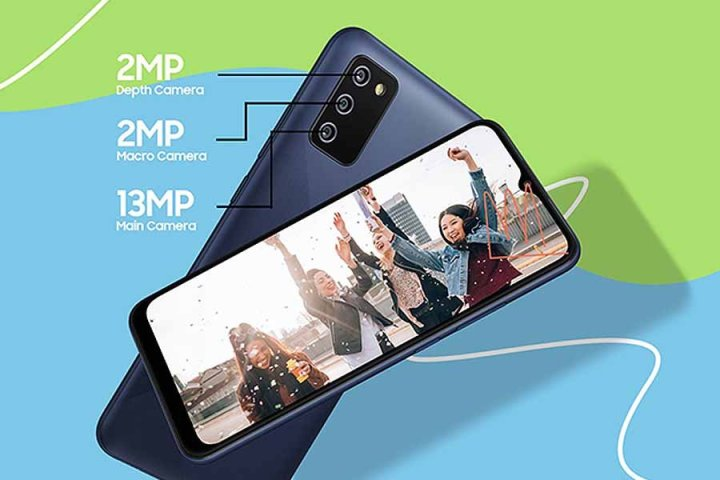 Samsung Galaxy F02s-camera