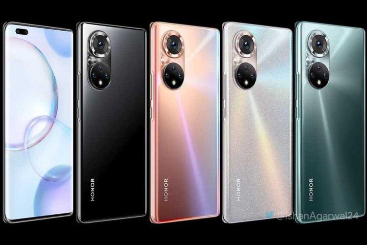 Honor 50 Pro 5G Design