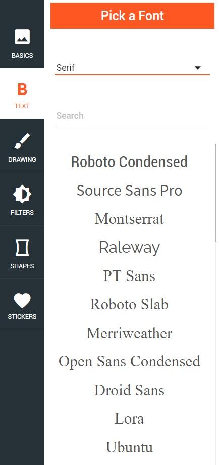 Pick a Font - Pratima Sampadak
