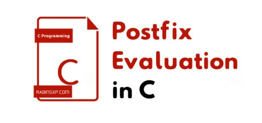 Postfix-Evaluation-in-C-Language