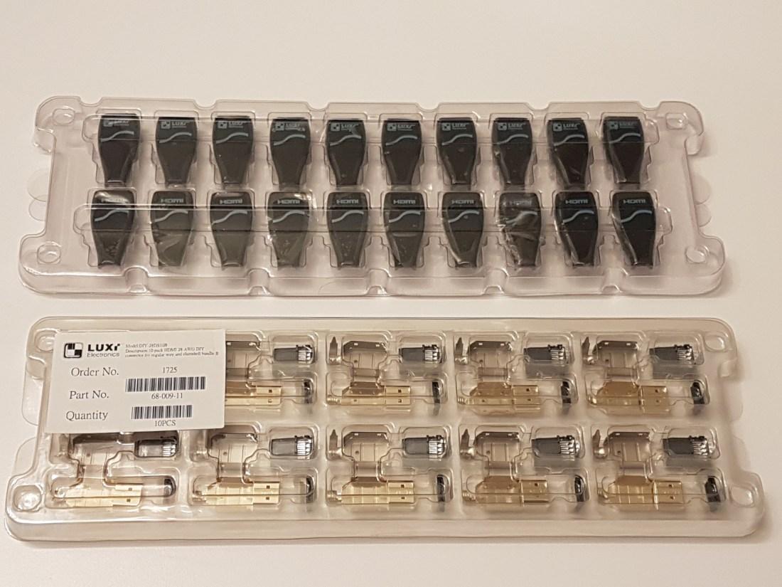 Connecteur HDMI Paquet 10
