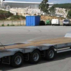 Semi Trailers For Sale In Germany Furnace Wiring Different Types Of Low Bed High Quality And Reliable Make 3 Axles Lowbed 30 Ton Rac