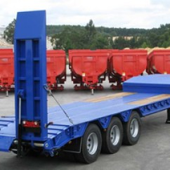 Semi Trailers For Sale In Germany Dimarzio Bass Wiring Diagram Different Types Of Low Bed High Quality And Reliable Make 3 Axles Lowbed Trailer 60 Ton Reinforced Rac