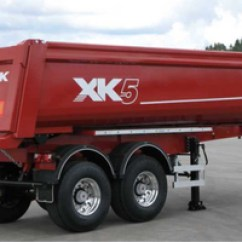 Semi Trailers For Sale In Germany Early Bronco Wiring Diagram High Quality Tipper Made Eu Rac 2 Axles Tipping Semitrailer 5 Mm Hardox